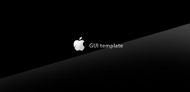 iphone ipad gui template