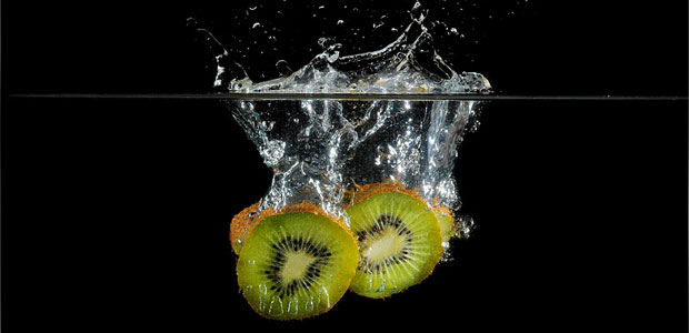 frutta in acqua