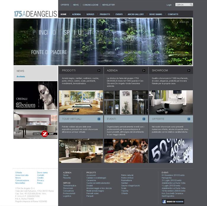 175a De Angelis Arredo Bagno.Webdesign Mario Tarello Fotografia Design Comunicazione